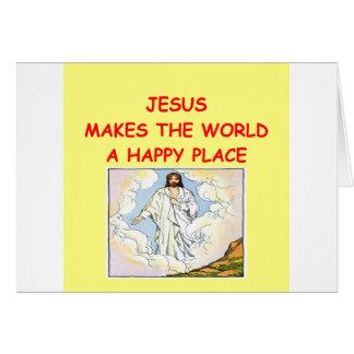 jesus cartões