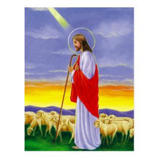 Jesus, cartão de páscoa religioso cartão postal