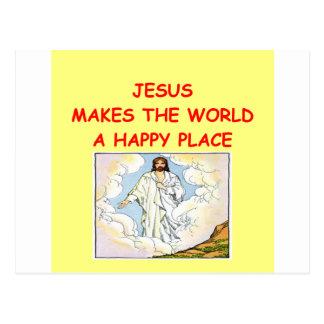 jesus cartão postal