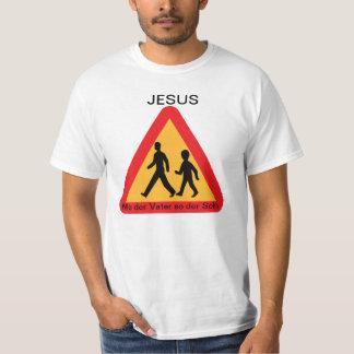 Jesus - Como o pai o assim filho Tshirt