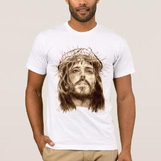 Jesus Cristo com uma coroa de espinhos Camiseta