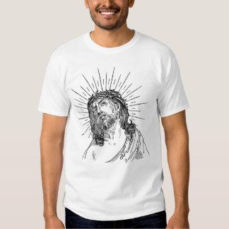 Jesus Cristo nosso t-shirt básico feito sob