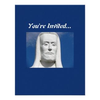 Jesus Cristo religioso Convite Personalizado