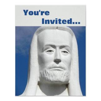 Jesus Cristo religioso Convite 10.79 X 13.97cm
