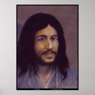 Jesus de sorriso, imagem judaica de Jesus Posteres
