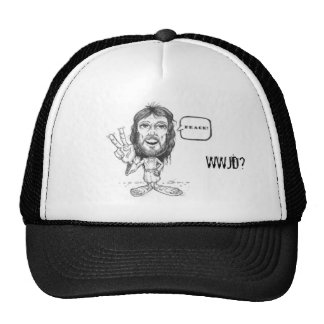 Jesus-Desenho, WWJD? Chapéu de Jesus Boné