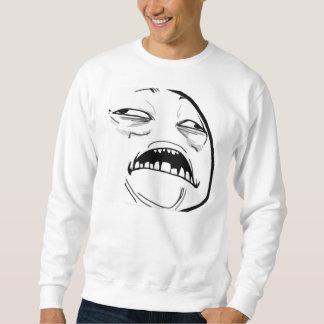 Jesus doce Meme - camisola Moleton