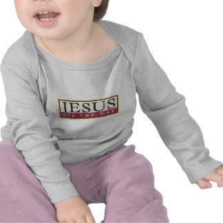 Jesus é a maneira t-shirt