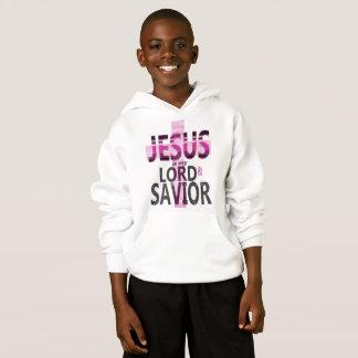 Jesus é meu Hoodie do miúdo do senhor e do