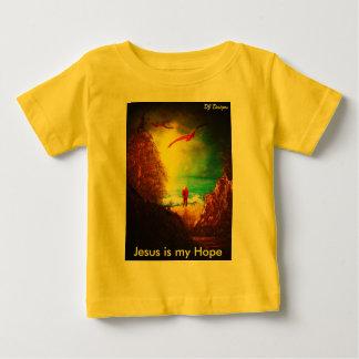 Jesus é minha camisa da esperança tshirts