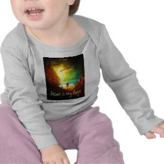 Jesus é minha camisa da esperança tshirt