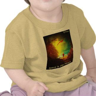 Jesus é minha camisa da esperança camiseta