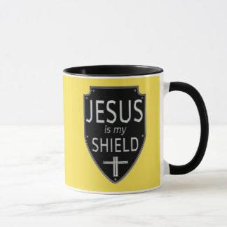 Jesus é minha caneca de café do protetor