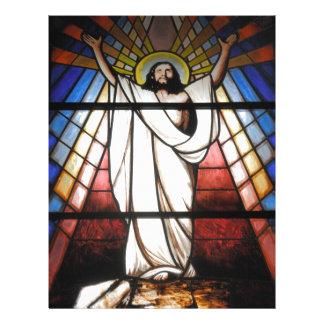 Jesus é nosso salvador panfleto
