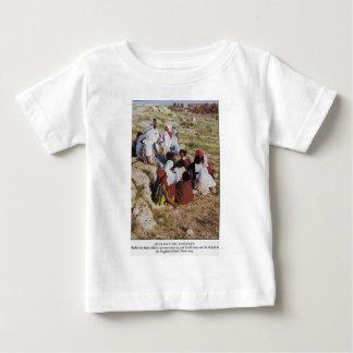 jesus e o childre camiseta