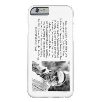 Jesus é o rosto humano do deus - Jürgen Moltmann Capa Barely There Para iPhone 6