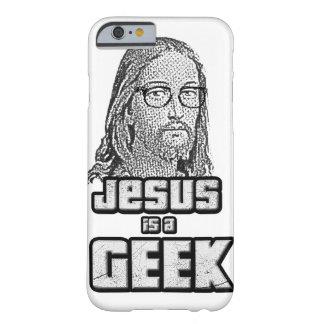 Jesus é um geek capa barely there para iPhone 6