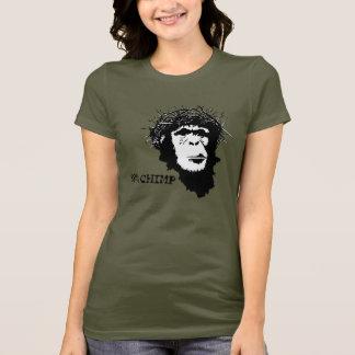 Jesus era camisa do ateu do chimpanzé de 98%