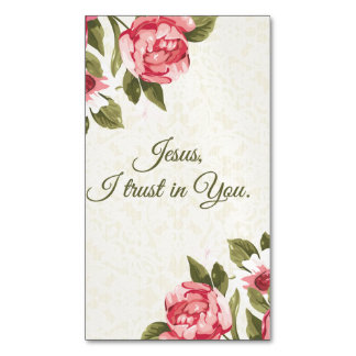 Jesus eu confio em você rosas santamente do rosa