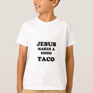JESUS FAZ UM BOM TACO CAMISETA