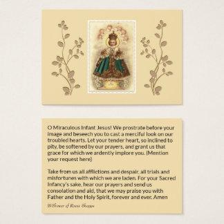 Jesus infantil do cartão santamente dos anjos de