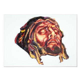 Jesus. Kopfbild Convite 12.7 X 17.78cm