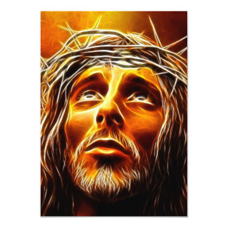 Jesus: Meu deus porque o tenha abandonado me Convite 12.7 X 17.78cm