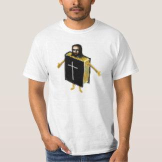 Jesus na bíblia t-shirts
