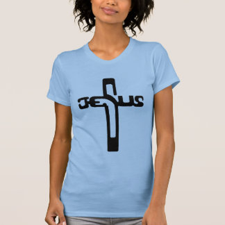 Jesus na cruz tshirt