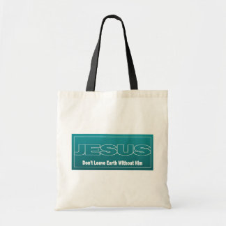JESUS não deixa a terra sem ele Bolsa Para Compras