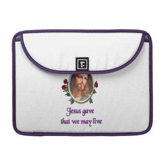 Jesus perdoa bolsas MacBook pro