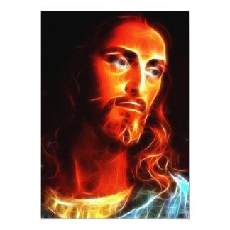 Jesus que pensa sobre você convite 12.7 x 17.78cm