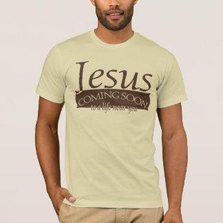 Jesus que vem logo camisa