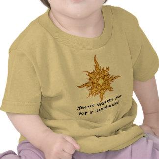 Jesus quer-me para um raio de sol! t-shirts