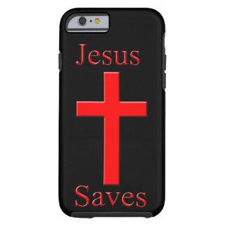 Jesus salvar capa tough para iPhone 6