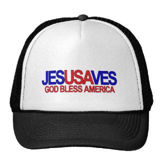 JESUS SALVAR O CHAPÉU BONÉS