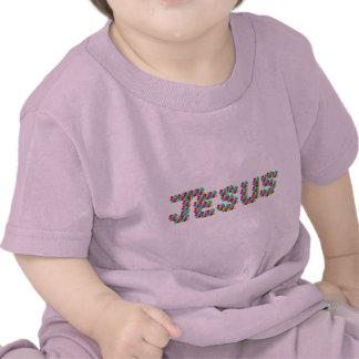 JESUS - smileys face Camisetas