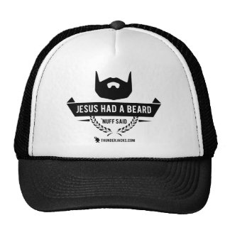 Jesus teve uma barba boné