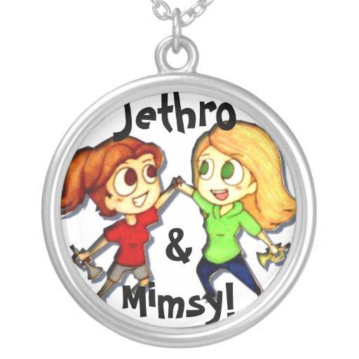 """Jethro & Mimsy!"" Colar"