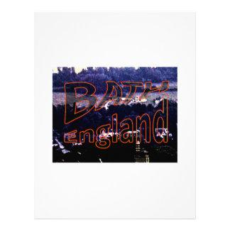 jGibney 0001a1 de Inglaterra 1986 do banho O MUSEU Papel De Carta