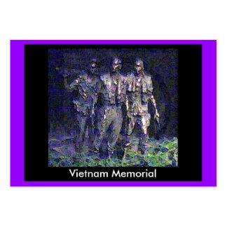 jGibney 2002 memorável de Vietnam do Washington DC Modelos Cartoes De Visitas