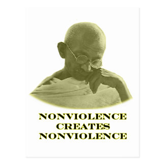 jGibney amarelo do Nonviolence O MUSEU Zazzle Cartao Postal
