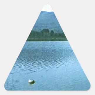 jGibney da arte snap36688 das montanhas de Adesivo Triangular
