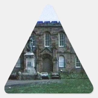 jGibney da arte snap-37689a do castelo de Scotland Adesivo Triangular