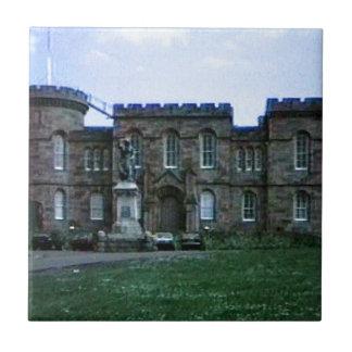 jGibney da arte snap-37689a do castelo de Scotland Azulejo Quadrado Pequeno