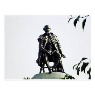 jGibney da estátua de Stratford-em cima-Avon Cartão Postal
