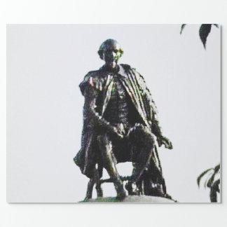 jGibney da estátua de Stratford-em cima-Avon Papel De Presente