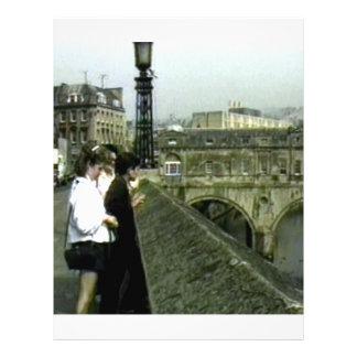 jGibney de Inglaterra 1986 snap11240a do banho O Papéis De Carta Personalizados