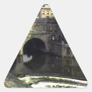 jGibney de Inglaterra 1986 snap-11409a do banho O Adesivos Em Forma De Triângulo