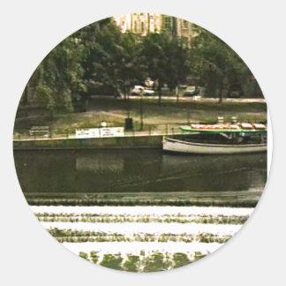 jGibney de Inglaterra 1986 snap-11510a do banho O Adesivo Em Formato Redondo